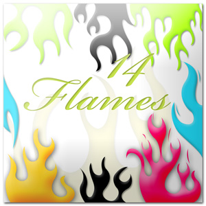 Flames Shapes