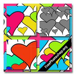 Hearts Clipart Pattern
