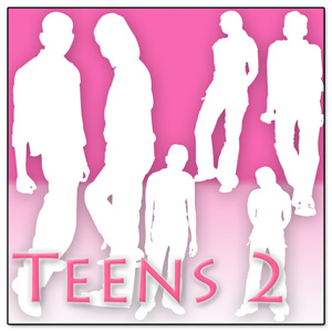 Teen People Shapes