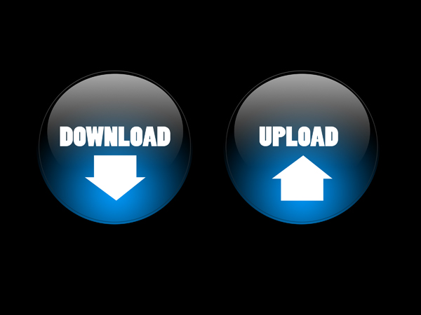 Download & Upload Button