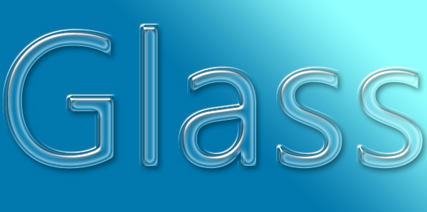Glass layer style effect