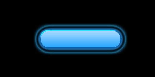 glow shiny button layer style