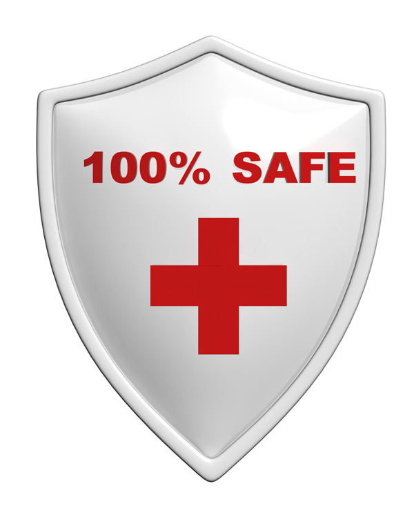 Safety Badge Shield