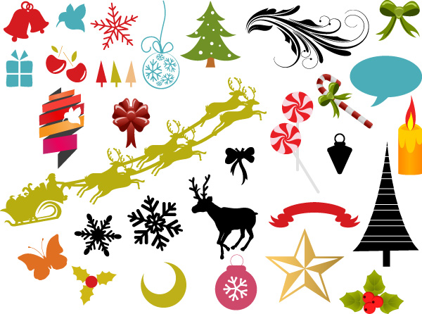 Christmas Graphic Elements Brushes