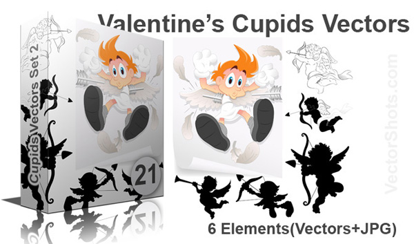 Valentine's Day Cupid Characters