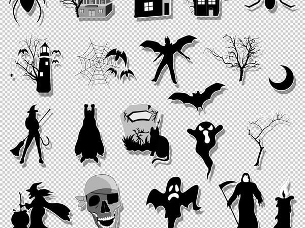 Free Halloween Brushes