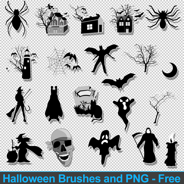 Halloween Spooky Graphic Designs