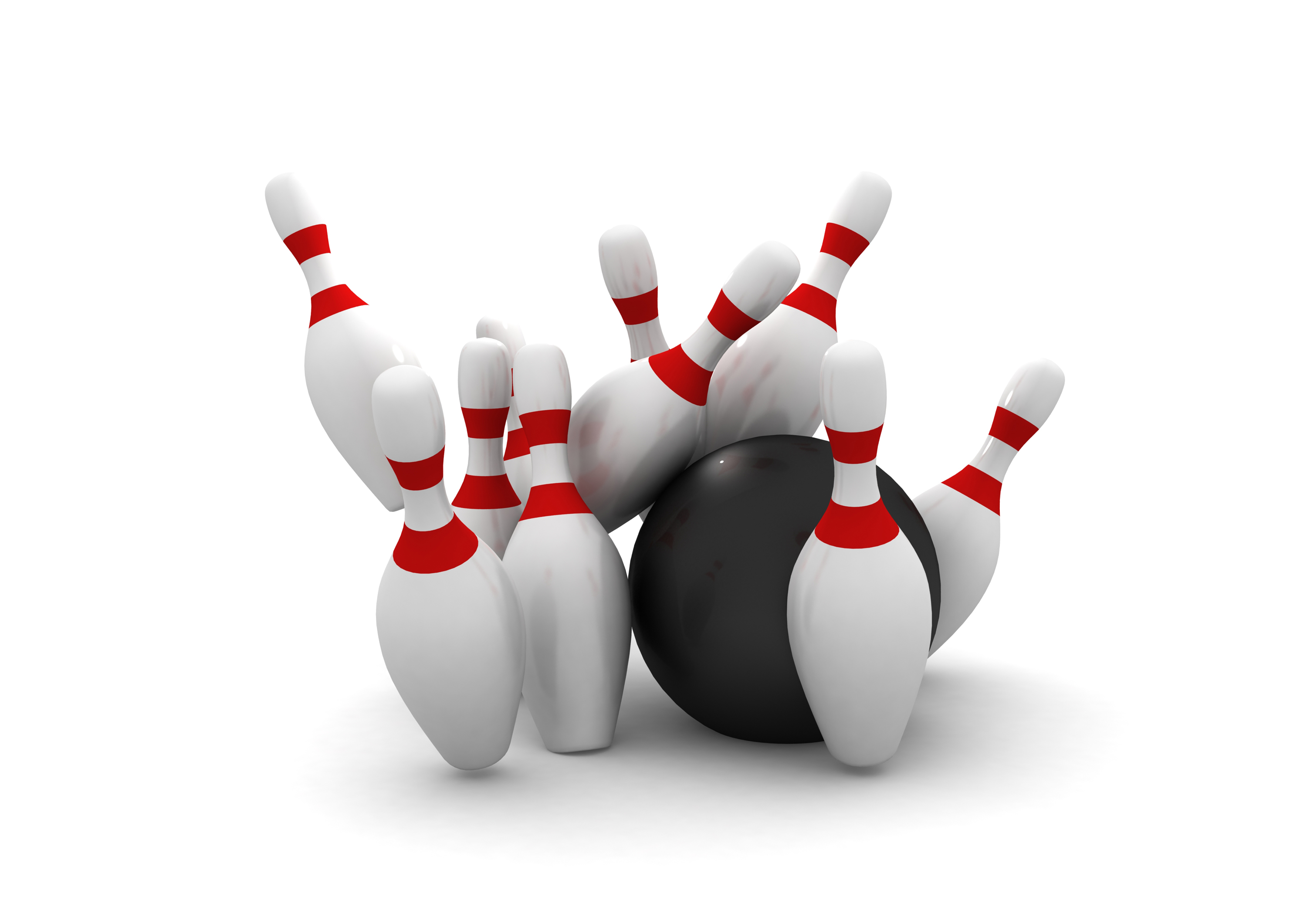 Bowling Ball Strike Royalty Free Stock Photos - Image: 22274838