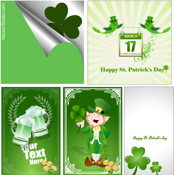 patricks day vectors