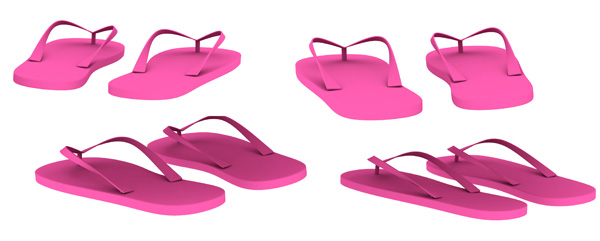 slippers psd