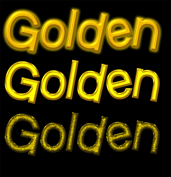 free golden layer styles
