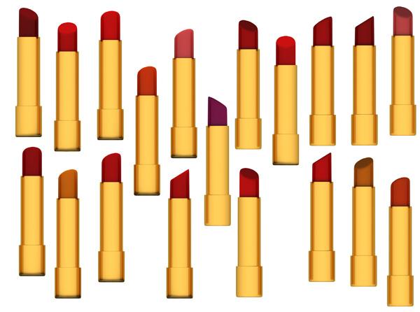 lipsticks psd