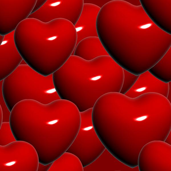 Free crochet heart patterns, red heart yarn patterns, crochet