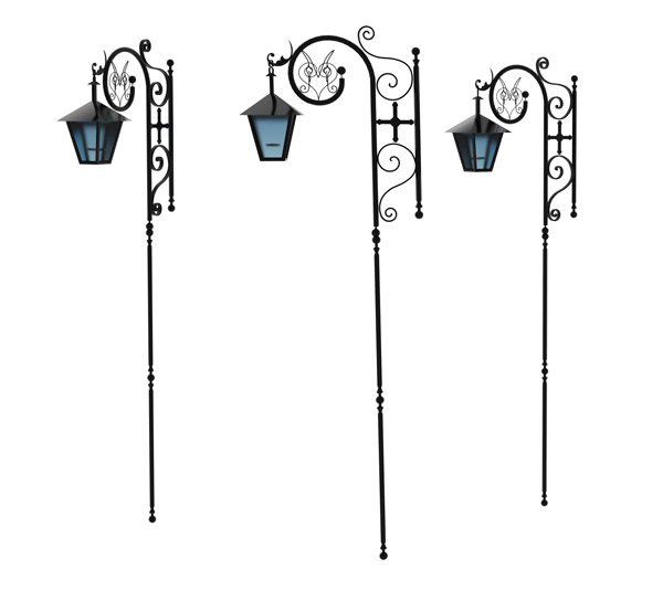 street lamps